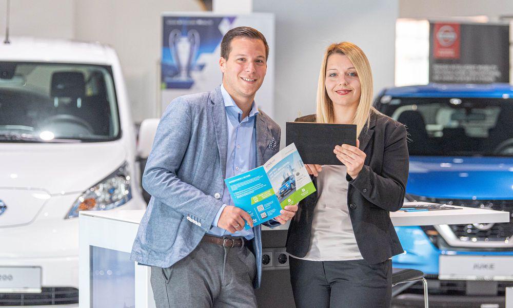 Rafael Krammer und Anja Gruber (Vogl+Co)