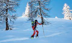 Skitourengeher müssen gut ausgebildet sein. Bei einer schwierigeren Tour kann ein professioneller Bergführer sehr hilfreich sein / Bild: KK