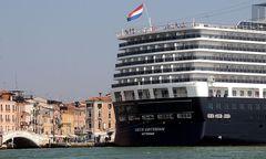 Die Bewohner von Venedig wollen die Kreuzfahrtschiffe aus der Lagune verbannen / Bild: APA