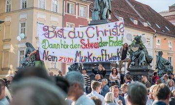 Ungeachtet der Proteste geht der Bau des Kraftwerks weiter / Bild: Juergen Fuchs