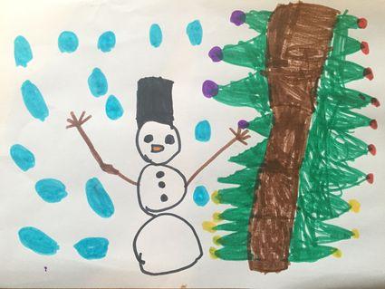 Weihnachtsbilder Gemalt.Adventzeichnung Weihnachtsbilder Von Klagenfurter Kindern Gemalt