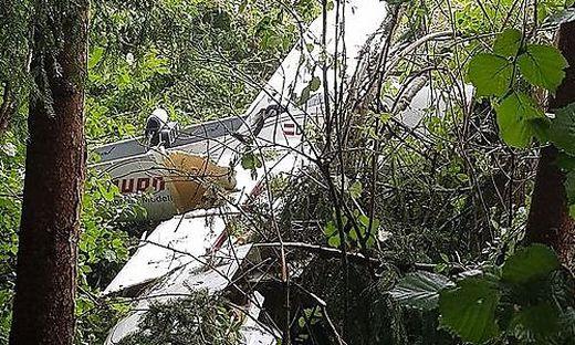 Das im September abgestürzte Segelflugzeug