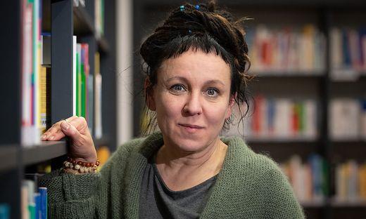 Literaturnobelpreisträgerin Olga Tokarczuk
