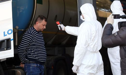 Fieberchecks wird es ab Freitag auch an der Grenze zu Slowenien geben