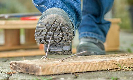 Am Bau gibt es die meisten Arbeitsunfälle