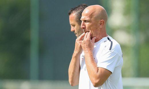 WAC-Coach Gerhard Struber