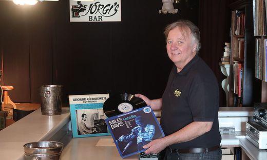 """Georg Fuchs hat sich mit """"Jörgis Bar"""" seinen Traum von einem Jazzklub erfüllt"""