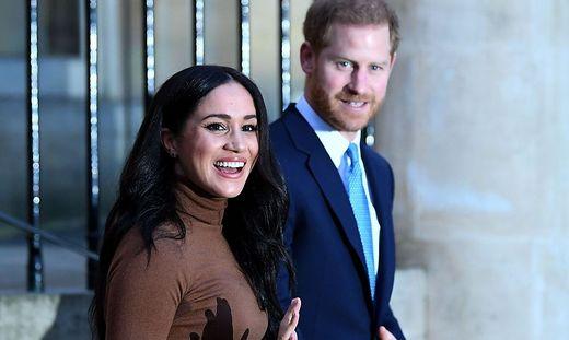 Im Clinch mit britischen Medien: Meghan und Harry