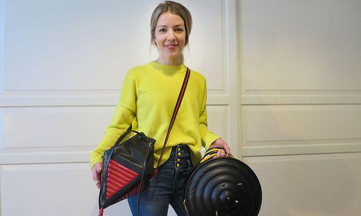 Nicole Lechner hat sich als Handtaschen-Designerin einen Namen gemacht