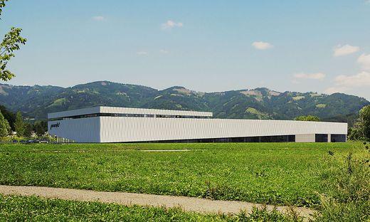 So wird das neue Pankl-Werk in Kapfenberg aussehen