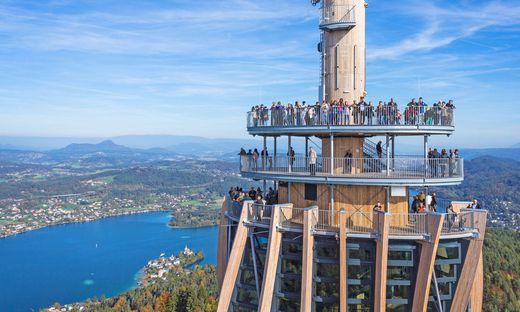 Der neue Turm ist eine Besuchermagnet