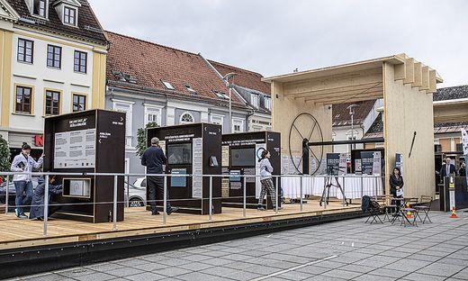 Mobile Ausstellung CarinthiJa 2020 Voelkermarkt 2020