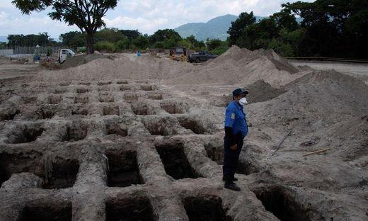 Friedhof in El Salvador