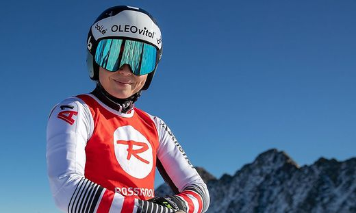 Startet in Kranjska Gora: Julia Scheib