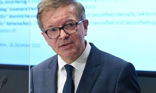Gesundheitsminister Rudolf Anschober