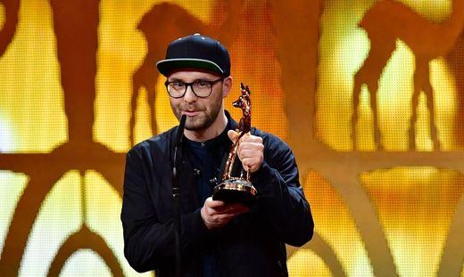 """Mark Forster mit dem """"Bambi-Award"""""""