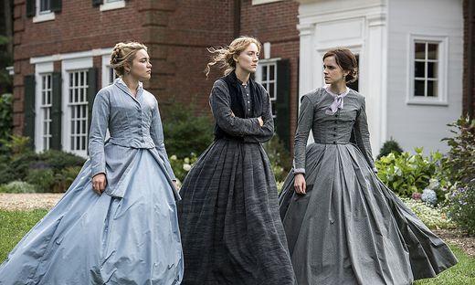 "Florence Pugh, Saoirse Ronan und Emma Watson in ""Little Woman"""