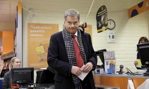 Klarer Sieg für Amtsinhaber Niinistö bei finnischer Präsidentenwahl