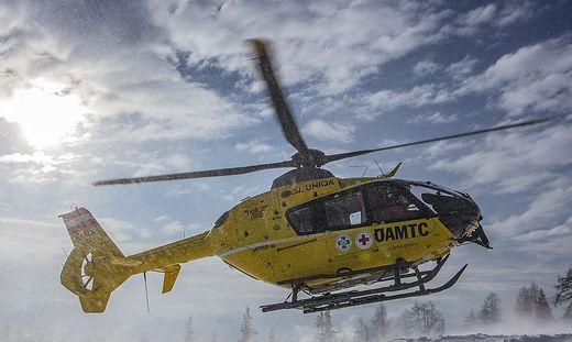 Einsatz für den Christophorus-Hubschrauber