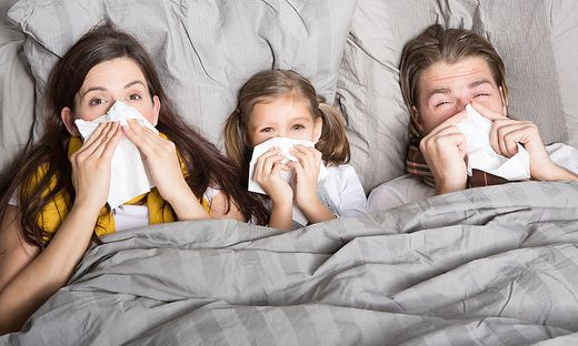 2519 Kärntner lagen letzte Woche laut ÖGK-Daten mit grippalen Infekten flach