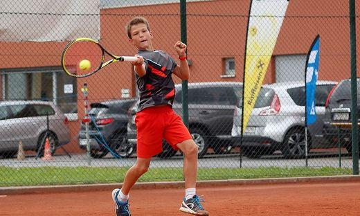 Der 13-jährige Sebastian Sorger ist gut in Form