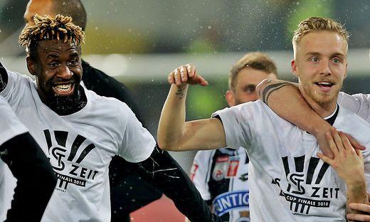 Bright Edomwonyi (links) und James Jeggo sind bei der Wiener Austria heiß begehrt
