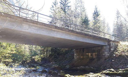 Auch die Schwarzbrunnbrücke wird saniert