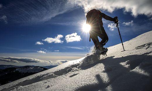 Im Schnee kamen die Deutschen vom Weg ab (Symbolfoto)