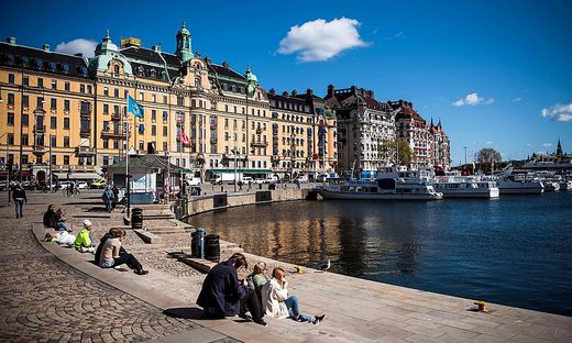 In Schweden hielten sich viele freiwillig an die Regeln