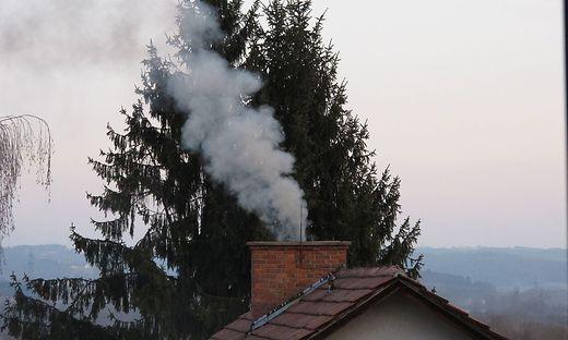 Rauchender Kamin