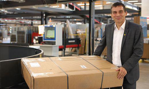Post-Logistik-Vorstand Peter Umundum