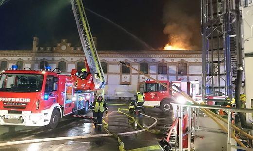 Großbrand im Burgenland