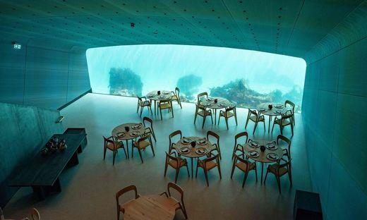 """Im norwegischen Lindesnes kann man im """"Under"""" unter Wasser speisen"""