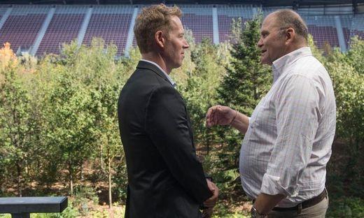 Mitinitiator Herbert Waldner begrüßte Patrick Knapp-Schwarzenegger