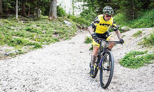 Franz Preihs will die schönsten Radstrecken der Region in zwei Tagen befahren