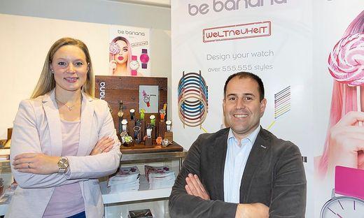 Die Unternehmer Kathrin und Stefan Kogler