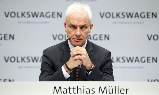 Ex-VW-Boss Matthias Müller