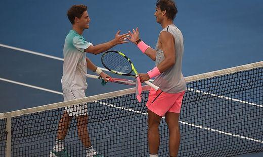 Tennis: Nadal im Viertelfinale der Australian Open