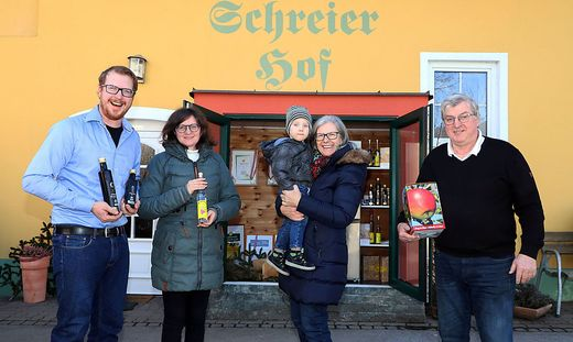 Die Familie Rauter aus Feldkirchen ist mit ihrem Angebot bereits beim neuen Einkaufsführer mit dabei