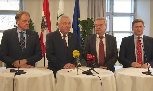 Dirnberger, Schützenhöfer, Lang und Wallner
