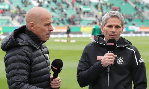 SOCCER - BL, Rapid vs Mattersburg