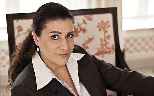 Die Mezzosopranistin Cecilia Bartoli