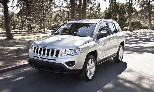 gebrauchtwagen check wie gut ist der jeep compass i. Black Bedroom Furniture Sets. Home Design Ideas