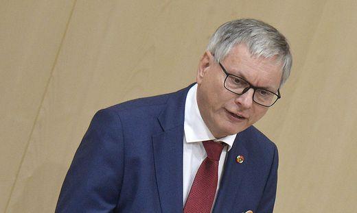 SPÖ-Verkehrssprecher Alois Stöger