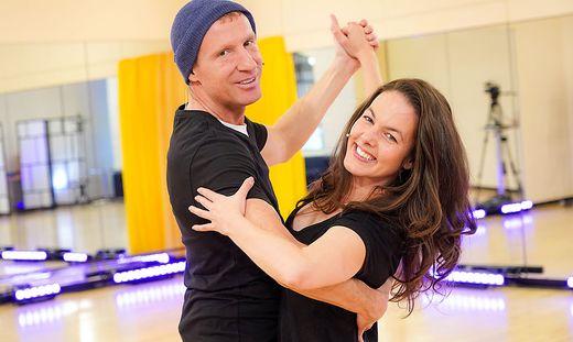 Hochbetrieb in den 'Dancing Stars'-Probenstudios