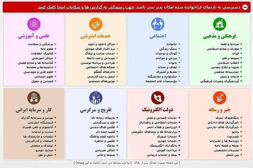 Internetzensur im Iran: Desktopergebnis eines versuchten Facebook-Logins