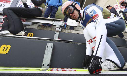 Stefan Kraft erreichte in der Innsbruck-Quali Rang zwei