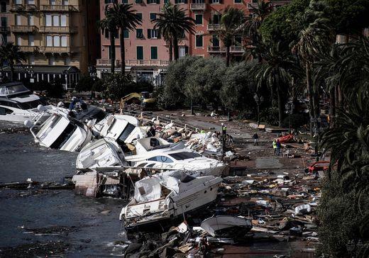 Massive Zerstörung in Ligurien