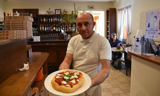 Roberto Amoroso hat seine Küche auch nachmittags geöffnet