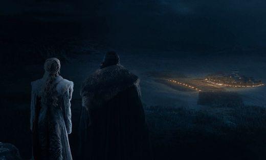 Blick auf das Schlachtfeld: Daenerys Targaryen und Jon Snow